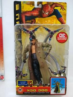 Spider-man 2 Doc Ock w Tentacle Attack Action