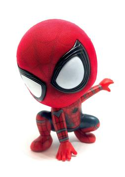 Spider-Man Bobblehead Action Figure Magnet Sticker Home Offi