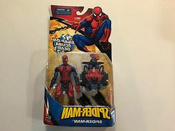 Hasbro Spider-Man Classic Heroes Spider-Man with Snap-On Scu