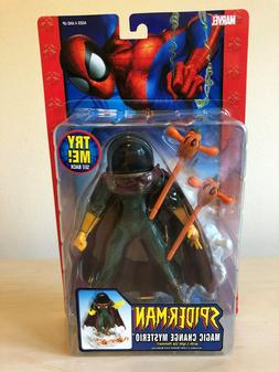 "ToyBiz Spider-Man Classics 6"" MAGIC CHANGE MYSTERIO Action F"