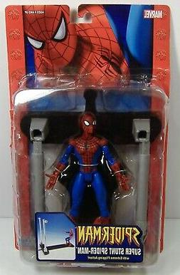 SPIDER-MAN CLASSICS MARVEL LEGENDS SUPER STUNT ACTION FIGURE