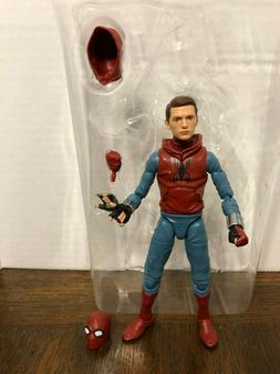 "Spider-Man Homemade Suit + Exclusive Head 6"" Action Figure M"