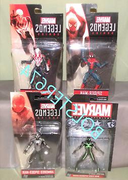 """SPIDER-MAN SET OF 4 Marvel Legends Universe 3.75"""" Figure 209"""