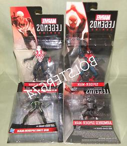 "SPIDER-MAN SET OF 4 Marvel Legends Universe 3.75"" 2099 BIG T"