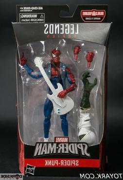 Marvel Legends Spider-man Spider Punk Figure New Sealed Liza