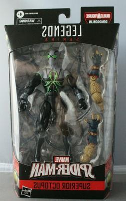 MARVEL LEGENDS Spider-Man Superior Octopus Demogoblin BAF WA