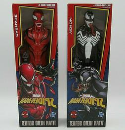 Marvel Spider-Man Titan Hero Series Villains Venom & Carnage