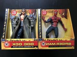 "Spiderman 2 & Doc Ock 12"" poseable action figures. SUPER R"