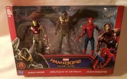 "Marvel Spiderman Homecoming 3-Pack 6"" Action Figures Vultu"