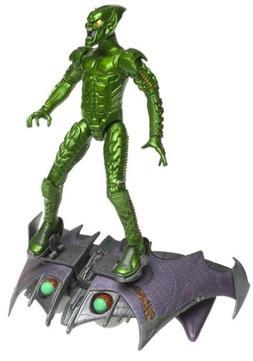 SpiderMan Movie ToyBiz Action Figure Green Goblin Pumpkin Bo