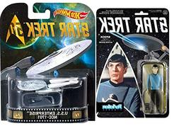 SPOCK Star Trek 50th Anniversary Retro Entertainment U.S.S.