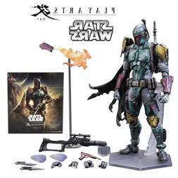 SQUARE ENIX VARIANT PLAY ARTS KAI STAR WARS BOBA FETT ACTION