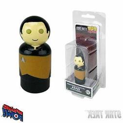 Star Trek: The Next Generation Data Pin Mate Wooden Figure