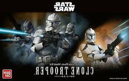 "Bandai Hobby Star Wars 1/12 Plastic Model Clone Trooper ""Sta"