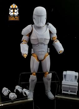 Star Wars 1/6 Clone Republic Commando Armor Kit for Custom F