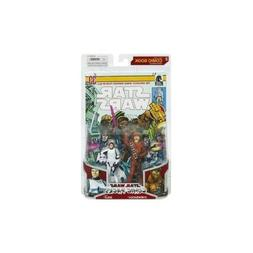 Star Wars 2009 Comic Book Action Figure 2-Pack Han Solo in S