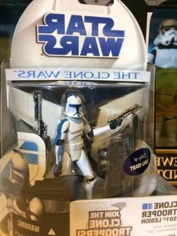 Star Wars 501st Clone Trooper Wal-Mart Exclusive MOC