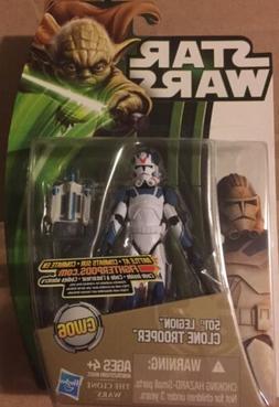 Star Wars 501st  Legion Clone Trooper Figure CW06 Yoda Card
