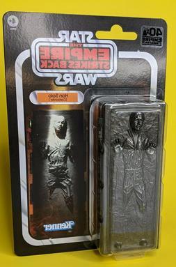 "Star Wars 6"" Black Series HAN SOLO IN CARBONITE 40th Anniver"