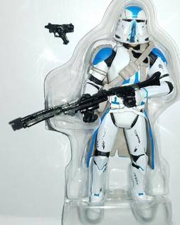 "Star Wars AIRBORNE TROOPER 3.75"" Figure 501st Legion Blue Cl"