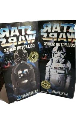 """STAR WARS AT-AT DRIVER TIE FIGHTER PILOT 12"""" COLLECTOR SER"""