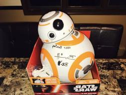 """Star Wars BB-8 Signed 18"""" Action Figure Puppeteer Brian Herr"""