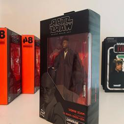 Star Wars Black Series Hasbro 6 inch Mace Windu Action Figur