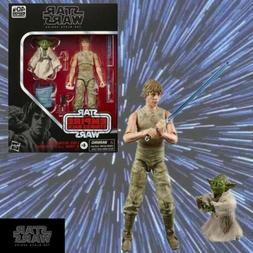 Hasbro Star Wars Black Series D4 Luke Skywalker & Yoda Jedi