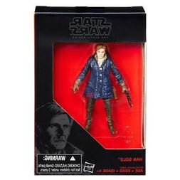 """STAR WARS BLACK SERIES HAN SOLO 3.75"""" ACTION FIGURE TOY"""
