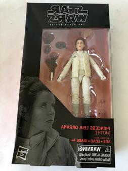 Star Wars Black Series Princess Leia Organa Hoth Figure New