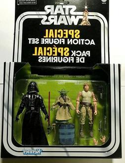 "Star Wars ""CAVE OF EVIL"" Special Action Figure Set 3.75"" BRA"