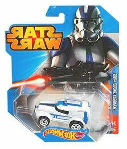 Hot Wheels Star Wars Character Car, 501st Clone Trooper