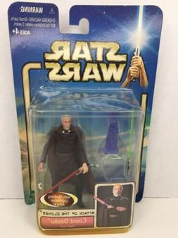 Star Wars COUNT DOOKU Jedi Master Attack of the Clones AOTC