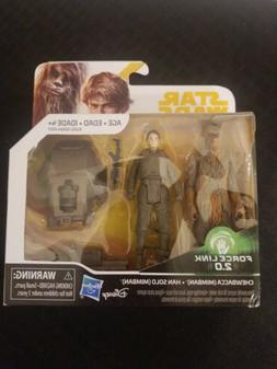Star Wars Han Solo & Chewbacca Mimban Force Link 2.0 Action