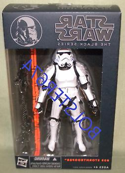 "Star Wars IMPERIAL STORMTROOPER #09 Black Series 2014 6"" Act"