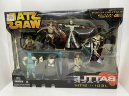 "Hasbro Star Wars Jedi Vs Sith Battle Pack 3.75"" Action Figur"