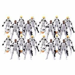 Star Wars Lot 20PCS Clone Pilot TROOPER ROTS 501st 2005 Coll