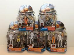 Star Wars Rebels Ezra, Karan, Hera, Zeb, Sabine & Stormtroop