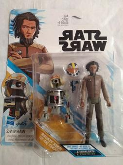 Star Wars Resistance Jarek Yeager & Bucket  Action Figure 2-