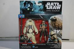 Star Wars Scarif Stormtrooper & Moroff  3.75 action figure R