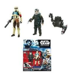 STAR WARS ROGUE ONE: SHORETROOPER CAPTAIN and BISTAN 3.75""