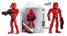 Star Wars Skywalker Disney Store Sith Red Trooper Action Fig