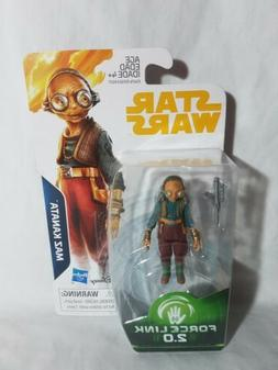 "Star Wars Solo Force Link 2.0 - 3.75"" Action Figures Qi-Ra,"