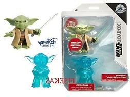 "Star Wars Disney Store Yoda Action Figure Force Spirit 3"" To"