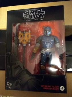 Star Wars The Black Series Heavy Infantry Mandalorian 6-inch