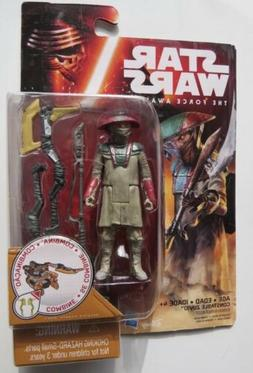 Star wars the force awakens 3.75 action figures- Constable Z