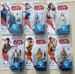 Star Wars The Last Jedi 3 3/4-Inch Action Figures MIXED LOT