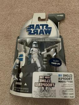 Star Wars Hasbro Walmart Exclusive Clone Wars Clone Trooper