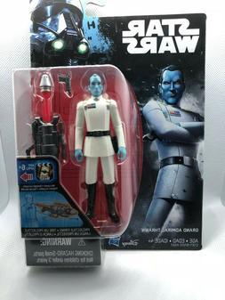 Disney Starwars Grand Admiral Thrawn Action Figure 3.75in