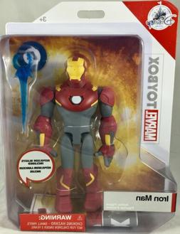 Disney Store Iron Man Action Figure Marvel Toybox New with B